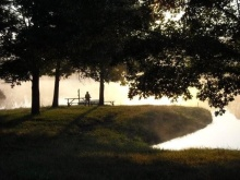 lake silhouette 2