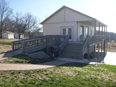 New multipurpose building Shalom Retreat Center Mound City KS Christian Camp